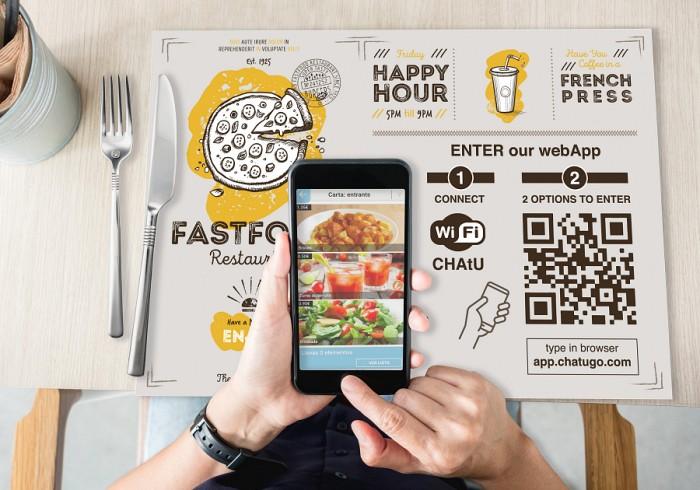 Implanta fácilmente la carta digital en tu establecimiento con CHAtU